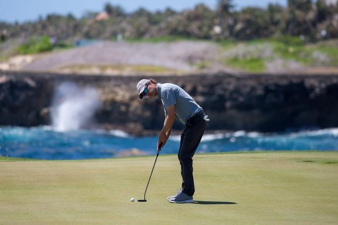 Alemán Stephan Jeager lidera Corales Puntacana Championship